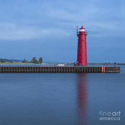Muskegon Lighthouse Wall Art - Photograph - Muskegon Inner Breakwater Light by Twenty Two North Photography