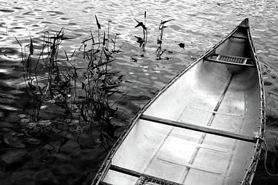 Photograph - Muskoka Canoe by Jim Vance