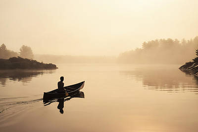 Photograph - Muskoka Morning by Karl Anderson