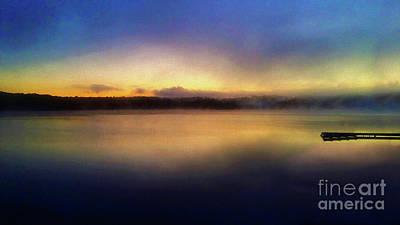 Muskoka Painting - Muskoka Sunset by Anthony Djordjevic
