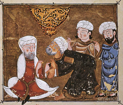 Photograph - Muslim Court, 1334 A.d by Granger