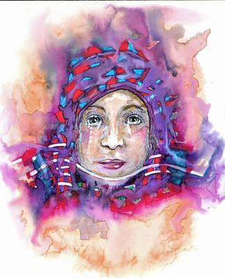 Racism Drawing - Muslim by Joy Calonico