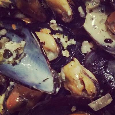 Photograph - #mussels #nomness by Jaynie Lea
