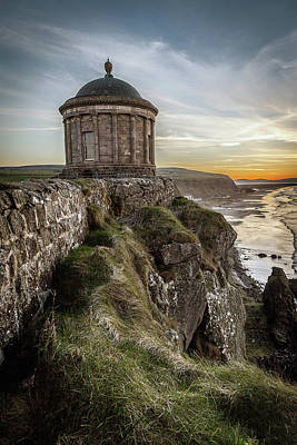 Photograph - Mussenden Temple, Ireland by George Pennock