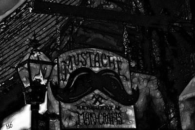Photograph - Mustache Man Crafts by Gina O'Brien