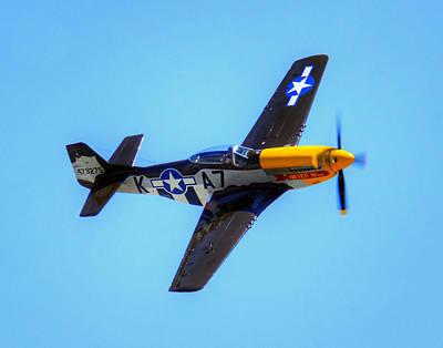 Photograph - Mustang 025 by Jeff Stallard