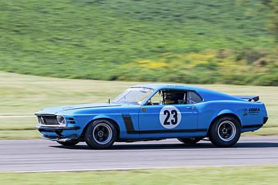 Photograph - Mustang #23 Cloud by Alan Raasch