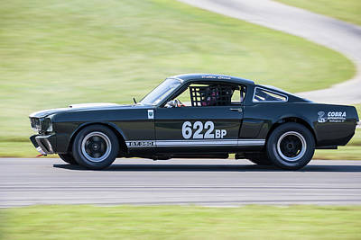 Photograph - Mustang #622 Cloud by Alan Raasch