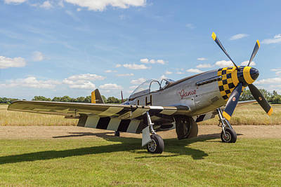 Ww11 Aircraft Photograph - Mustang Aircraft by Kevin Snelling