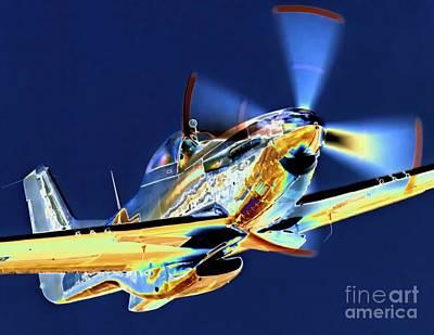 Photograph - Mustang Blazrd by Gus McCrea