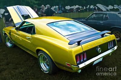 Mustang Boss 302 Art Print