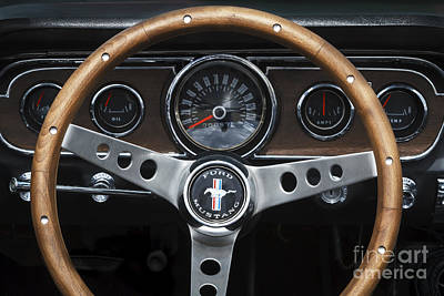 Autumn Pies - Mustang Dashboard by Dennis Hedberg