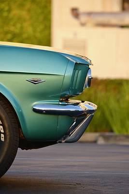 Photograph - Mustang Fastback Details by Dean Ferreira