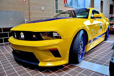 Photograph - Mustang G T by John Schneider