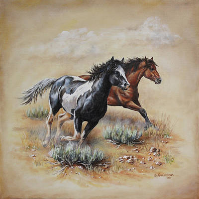 Painting - Mustang Glory by Kim Lockman
