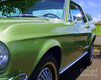Photograph - Mustang Memories - 2 by Mary Deal