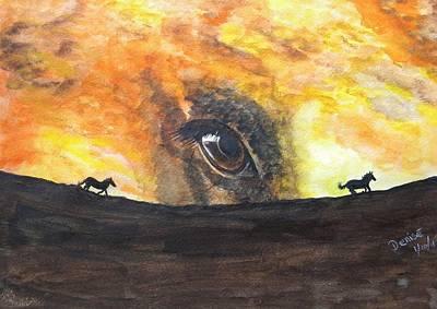 Mustang Memories Art Print