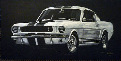 Painting - Mustang  by Richard Le Page