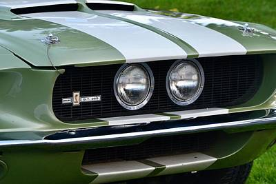 Photograph - Mustang Shelby Details by Dean Ferreira