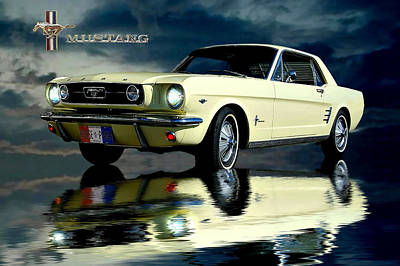 Photograph - Mustang by Steven Agius
