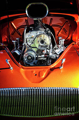 Art Print featuring the photograph Muscle Engine by Scott Kemper