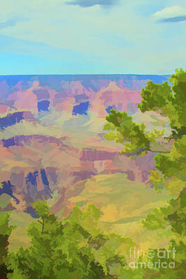 Photograph - Muted Grand Canyon by Steven Parker