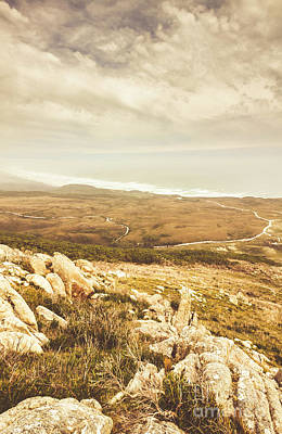 Coast Wall Art - Photograph - Muted Mountain Views by Jorgo Photography - Wall Art Gallery