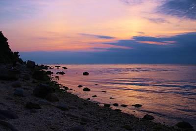 Photograph - Muted Sunset by Karen Silvestri