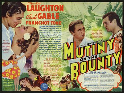 Mutiny On The Bounty 1935 Art Print by Mountain Dreams