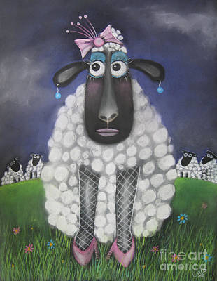 Pastel - Mutton Dressed As Lamb by Caroline Peacock