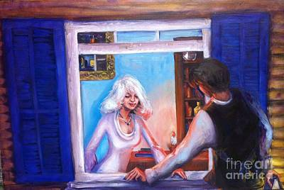 Painting - Intimate Conversation by Beverly Boulet
