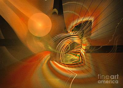 Digital Art - Mutual Respect - Abstract Art by Sipo Liimatainen