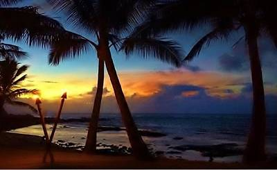 Photograph - Maui Sunset by Vilma Zurc
