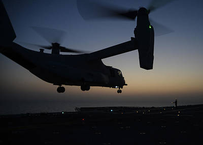 Munitions Painting - Mv-22b Osprey Tiltrotor Aircraft  by Celestial Images