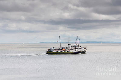 Photograph - Mv Balmoral In The Bristol Channel by Steve Purnell