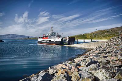 Scotland Photograph - Mv Loch Alainn by Nichola Denny