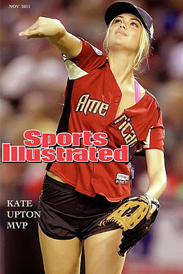 Justin Verlander Mixed Media - Mvp, Kate Upton, Sports Illustrated by Thomas Pollart