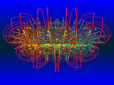 Expressionism Digital Art Drawing - Mwblogo_jewelpearl1 by Mark W Ballard