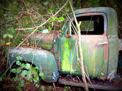 Photograph - My 3600 Chevrolet Truck by Kathy Barney