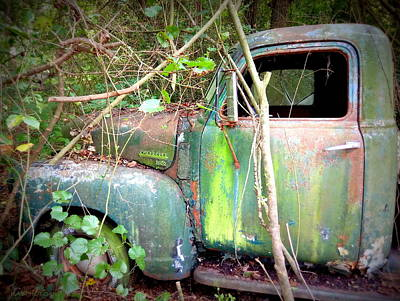 Photograph - My 3600 Chevy Truck by Kathy Barney