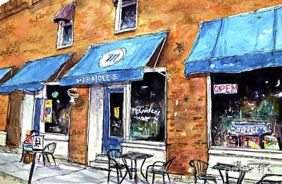 Franklin Tennessee Painting - My 4th Ave Favorite by Tim Ross