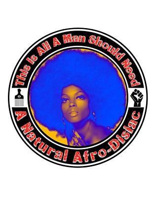 Digital Art - My Afro Pick by Motivational Artwork