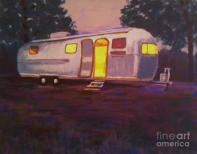 Painting - My Airstream Dream II by Suzanne McKay