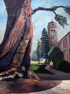 Dream Team Painting - Alma Mater by EricA Art