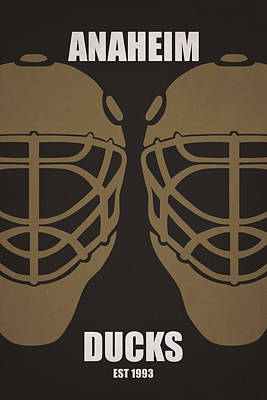 My Anaheim Ducks Art Print