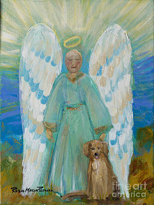 Painting - My Angels by Robin Maria Pedrero
