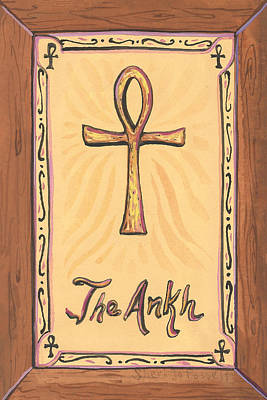 Painting - My Ankh by Sheri Jo Posselt