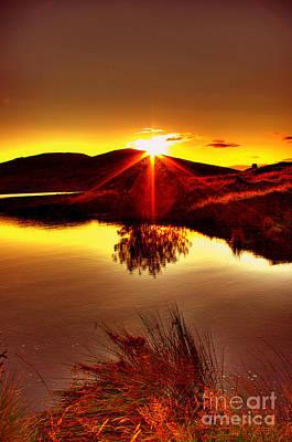 My Anniversary Sunset Art Print by Kim Shatwell-Irishphotographer