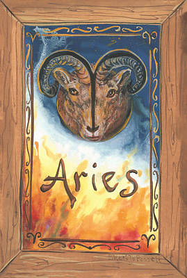 My Aries Art Print