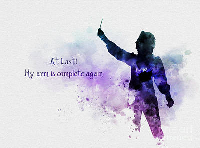 My Arm Is Complete Again Art Print